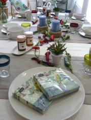Tisch des Monats Juli
