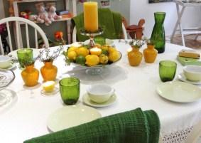 Tisch des Monats August