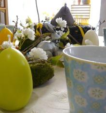 Tisch des Monats März