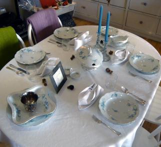 Tisch des Monats Oktober