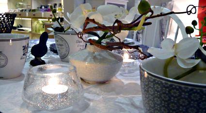 Tisch des Monats Dezember