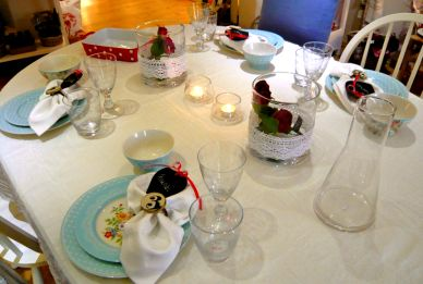 Tisch des Monats Mai
