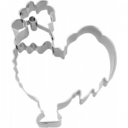 Cookie cutter with stamp Rooster