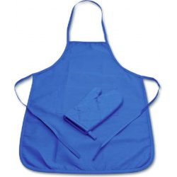 Kids apron - Little hobby baker, blue