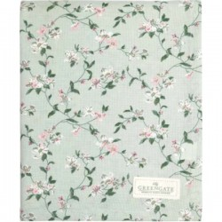 Tablecloth Jasmina red 145 x 250 cm by Greengate