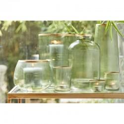 Vase Blair, green, 26 cm