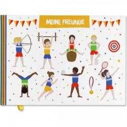 Kindergarten-Freundebuch Jungen
