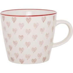 Cup Red Hearts