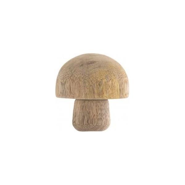 Pilz Holz geschnitzt