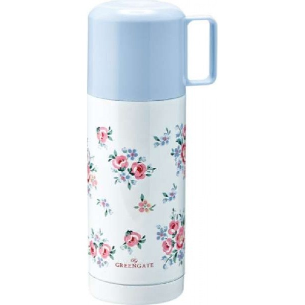Thermos bottle Strawberry pale pink by GreenGate