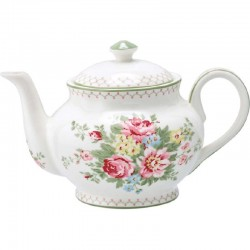 Teapot - Marley white by Greengate