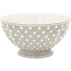 French bowl - xlarge Spot pale green by Greengate