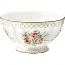 French bowl - xlarge Spot grey by Greengate