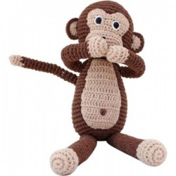Cat Felix cuddly toy with rattle