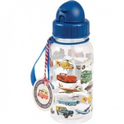 Kids Water Bottle Happy Cloud