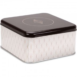 Biscuit tin Vanilla Diamonds – Round
