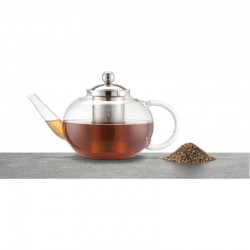 Teapot - Dot black with gold by Greengate