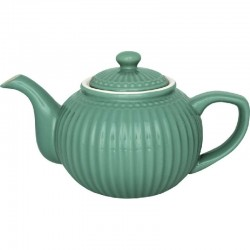 Teekanne - Teapot - Alice  warm grey von Greengate