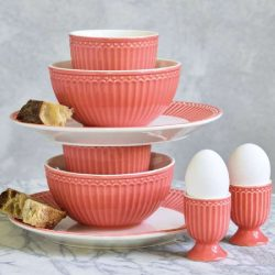 Cereal bowl - Alice pale pink by Greengate