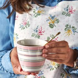 Latte cup Hailey white Greengate