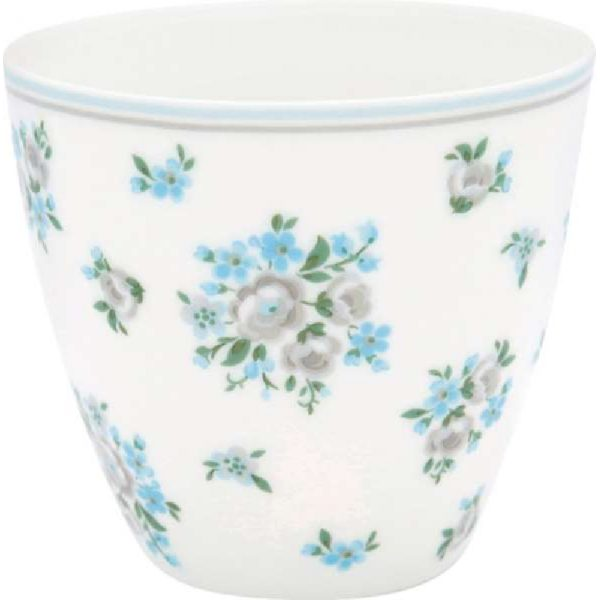 Latte cup Luna white by Greengate