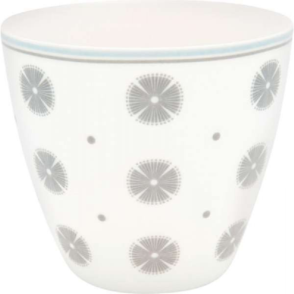 Latte cup Nicoline beige by Greengate