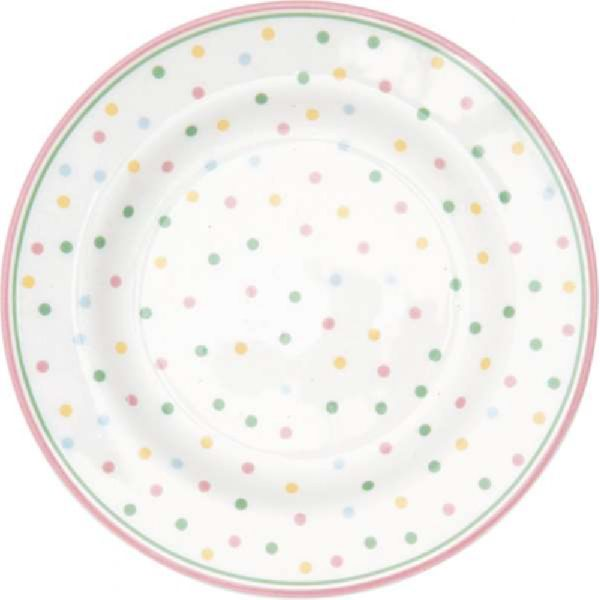 Cake Plate Jolie pale pink by Greengate