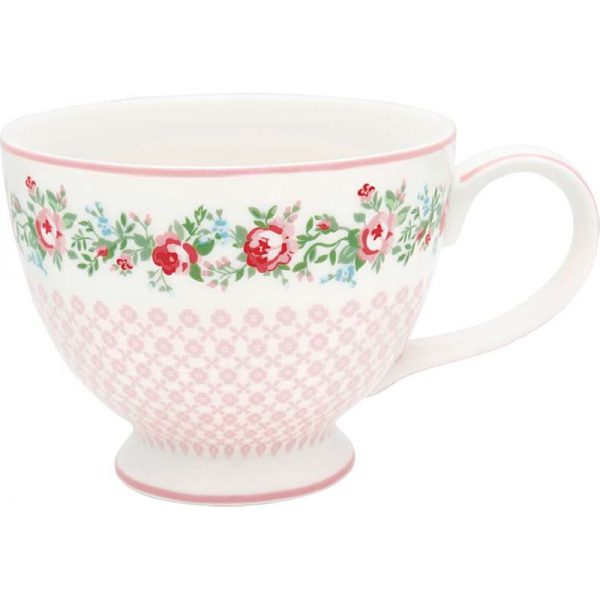 Teacup Adele white by Greengate