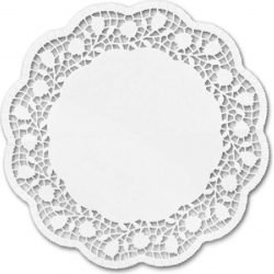 Cake doily Rectangle – 6 pieces, 40 x 20 cm