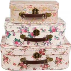 Case Vintage Rose, large