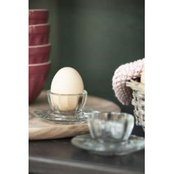 Egg cup Adele white by Greengate