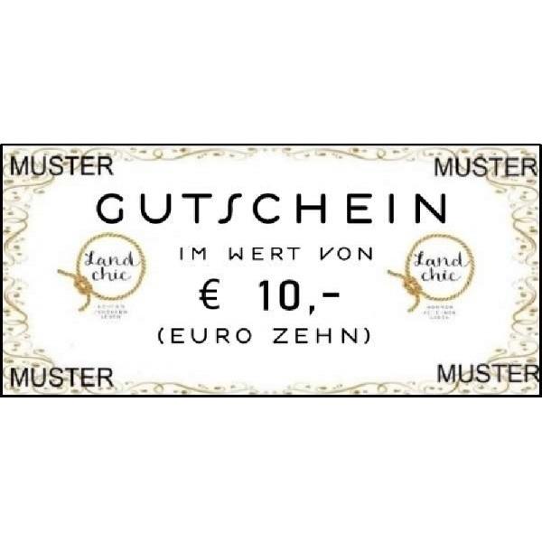 Gutschein über Euro 10,--