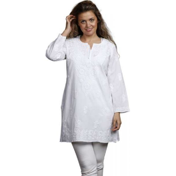 Tunic Tanja, white