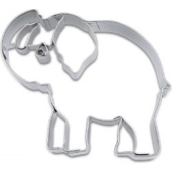 Cookie cutter with stamp, Cat – standing