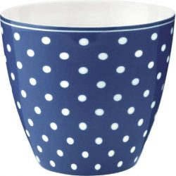 Latte cup Spot red by Greengate