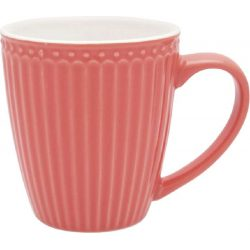 Mug Alice red by Greengate