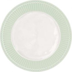 Cake Plate Alice pale yellow by Greengate