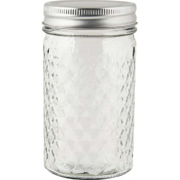 Storage jar with wooden lid, 2350 ml