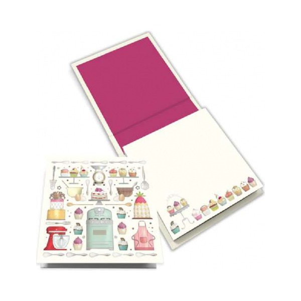 Memo pad butterfly