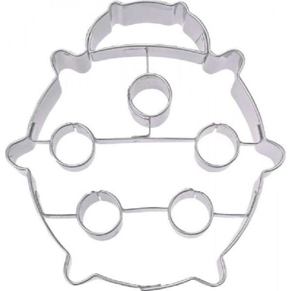 Cookie cutter with stamp, Elephant