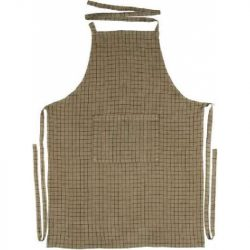 Apron Elouise, white by GreenGate