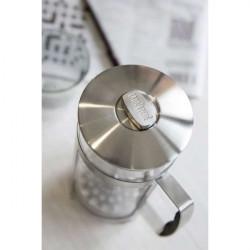 Kaffeetasse, Kupfer und Glas