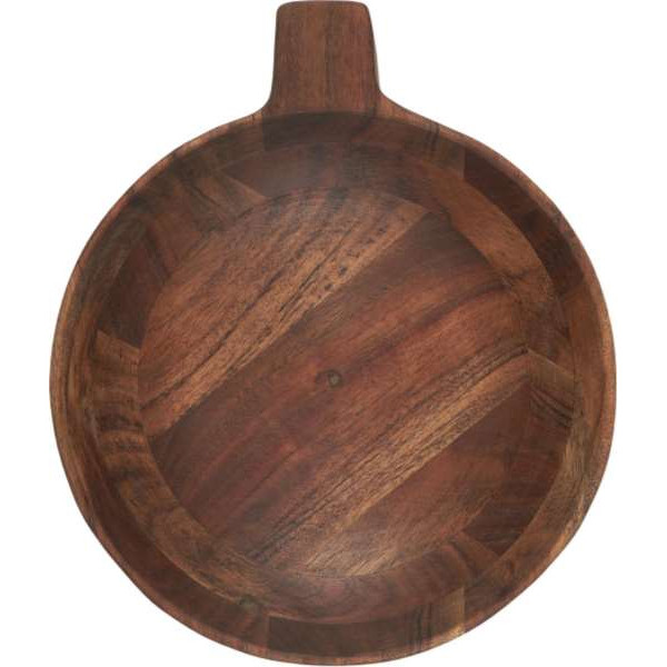 Tapas bowl, oiled acacia wood