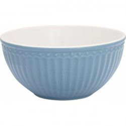 French bowl - medium Penny white by Greengate