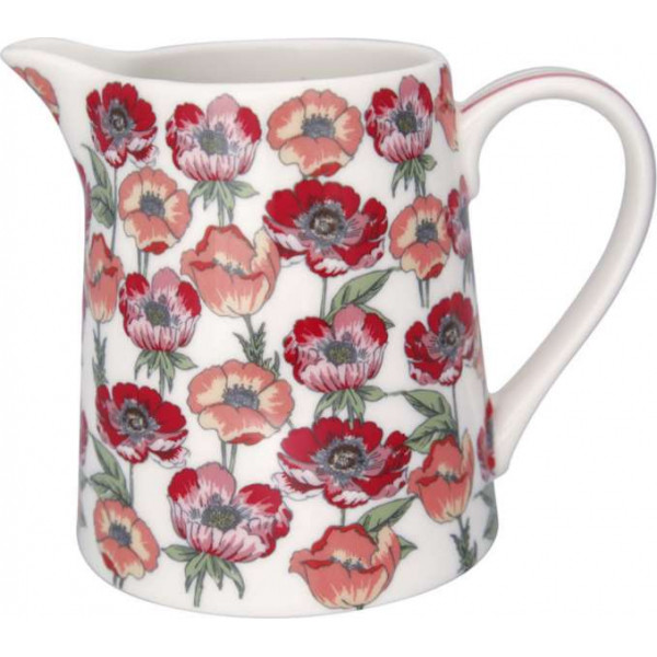 Jug - Dot black by GreenGate