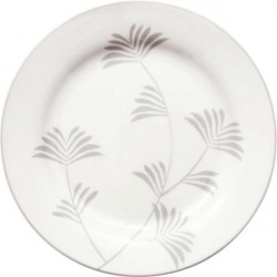 Plate Henrietta white by Greengate
