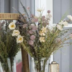 Meadow flowers, beige tones