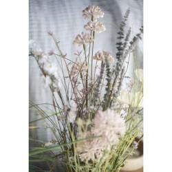Wiesenblumen, beige Töne