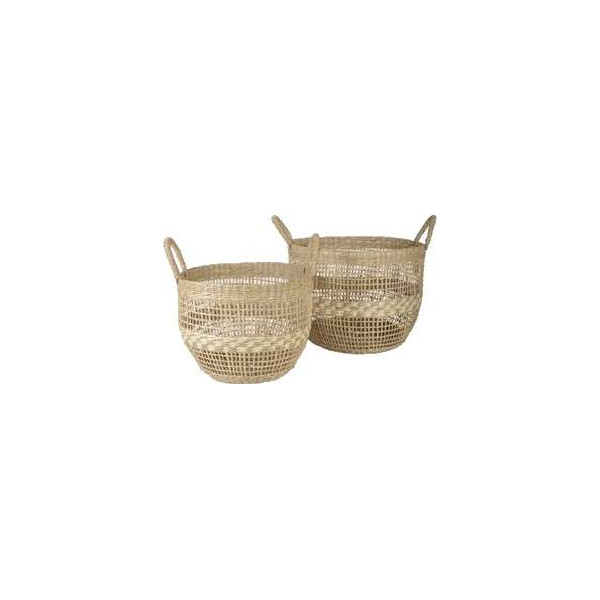 Seagrass basket Alessio, large