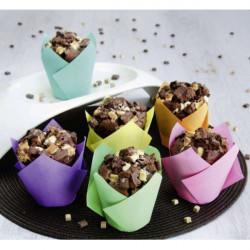 Cupcake-Backform Vanilla Diamonds – Maxi – 12 Stück